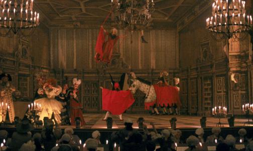 Mozart's operas parodied in Amadeus